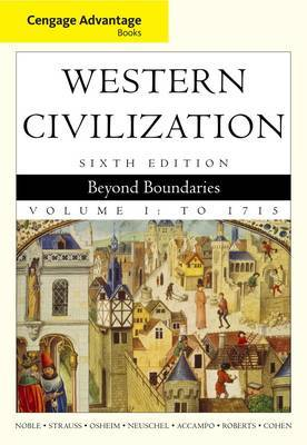 Cengage Advantage Books: Western Civilization: Beyond Boundaries: v. 1 by William Cohen image