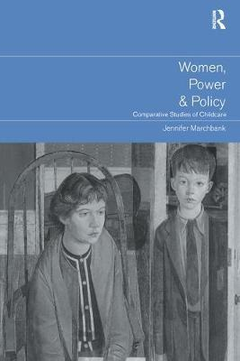 Women, Power and Policy by Jennifer Marchbank image