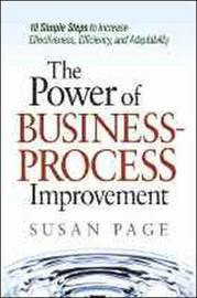The Power of Business-Process Improvement by Susan Page image