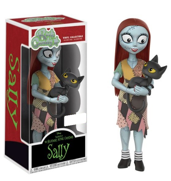 Nightmare Before Christmas - Sally (with Cat) Rock Candy Vinyl Figure image
