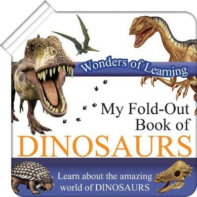 Wonders of Learning Fold out Book Dinosaurs