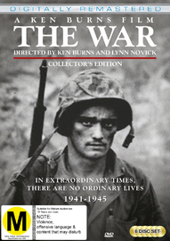 The War - Collectors Edition (Remastered) on DVD