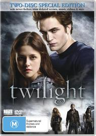 Twilight - Special Edition (2 Disc) on DVD