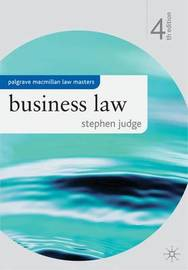 Business Law by Stephen Judge