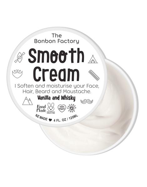 The Bonbon Factory Smooth Hair Cream - Vanilla & Whisky (120ml) image