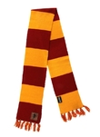 Harry Potter - Gryffindor Patch Striped Scarf