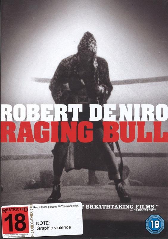 Raging Bull on DVD