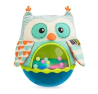 B. Roly Poly Owl - Activity Plush