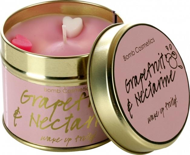 Bomb Cosmetics Candle - Grapefruit & Nectarine