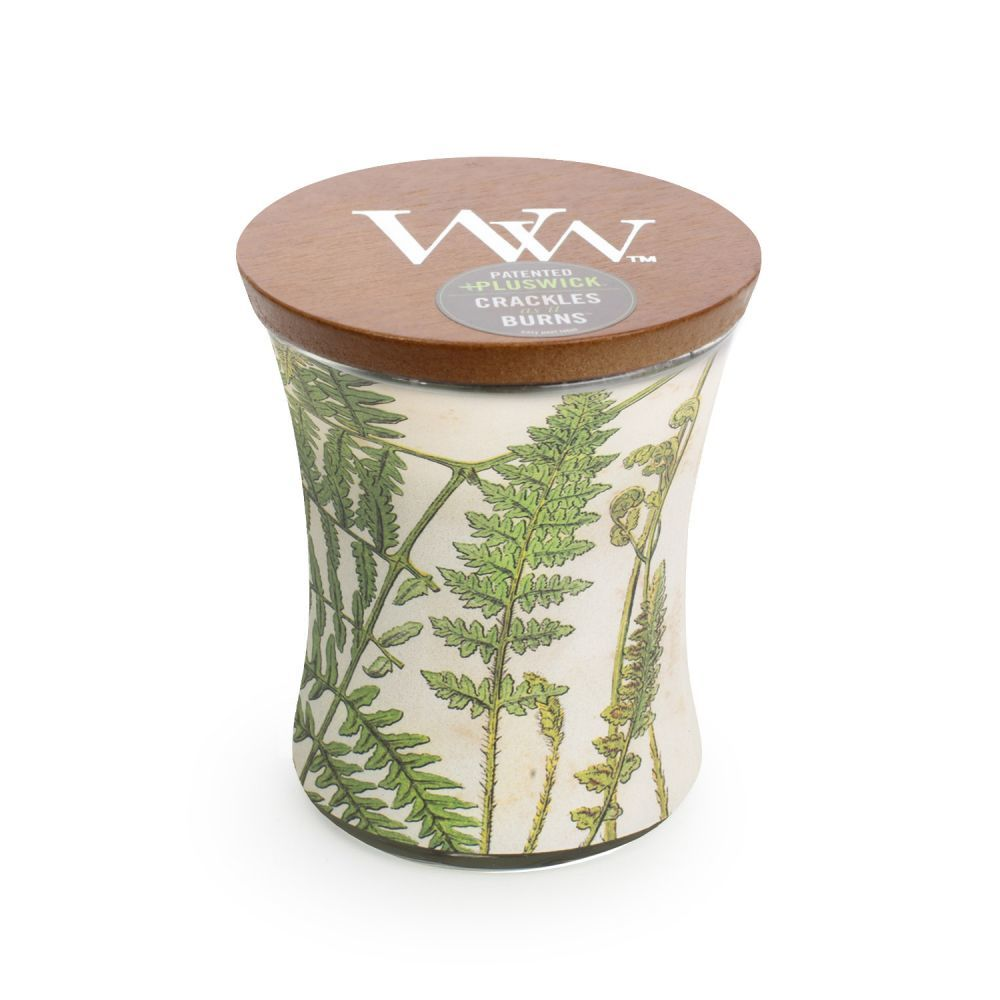 Woodwick Decal Candle - Fern (Medium) image