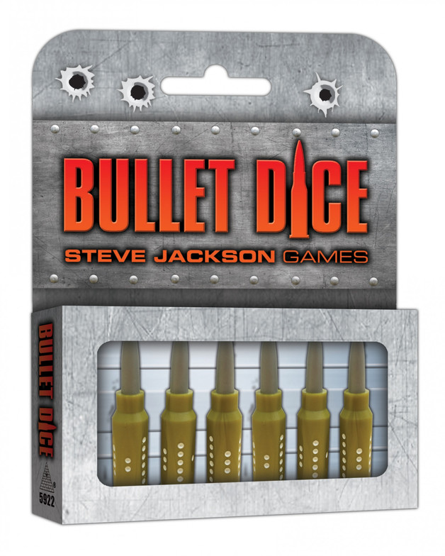 Bullet Dice - Speciality Dice Set (6-Pack)