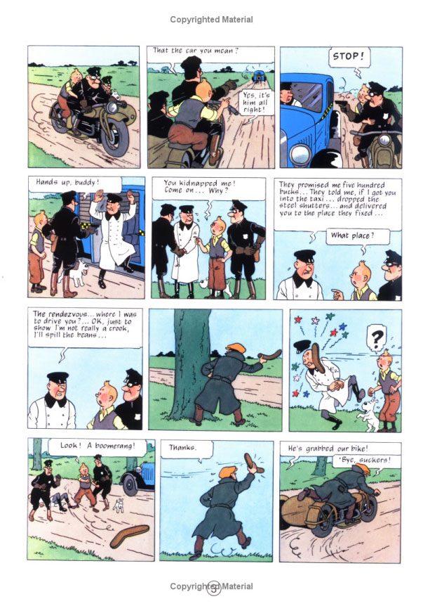 Tintin in America (The Adventures of Tintin # 3) by Herge image