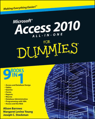 Access 2010 All-in-One For Dummies by Alison Barrows
