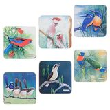Maxwell & Williams - Katherine Castle Birds of Australia Coasters (Set of 6)