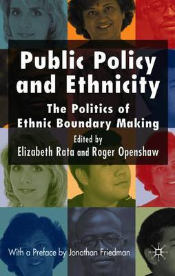 Public Policy and Ethnicity by Roger Openshaw