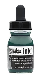 Liquitex: Acrylic Ink - Phthalo Green Blue Shade (30ml)