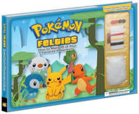 Pokemon Felties: How to Make 16 of Your Favorite Pokemon by Pikachu Press