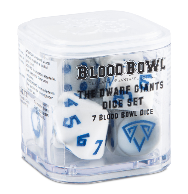 Blood Bowl: Dwarf Giants Dice