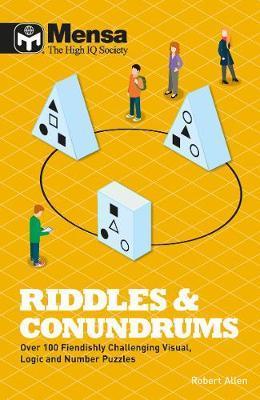 Mensa Riddles & Conundrums by Robert Allen image