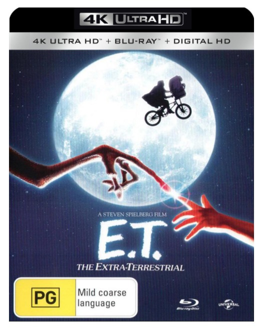 E.T. - The Extra-Terrestrial on UHD Blu-ray image