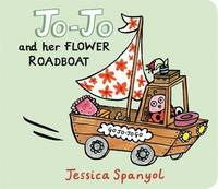 Minibug Jo-Jo And Her Flower Road-Boat by Jessica Spanyol