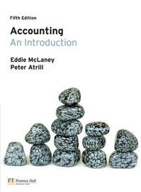 Accounting: An Introduction by Eddie McLaney image