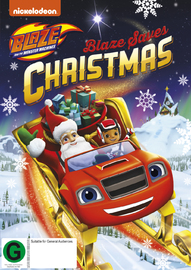 Blaze And The Monster Machines: Blaze Saves Christmas on DVD