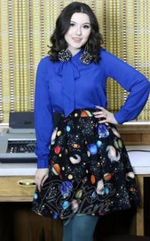 Out of this World Aline Skirt (2X)