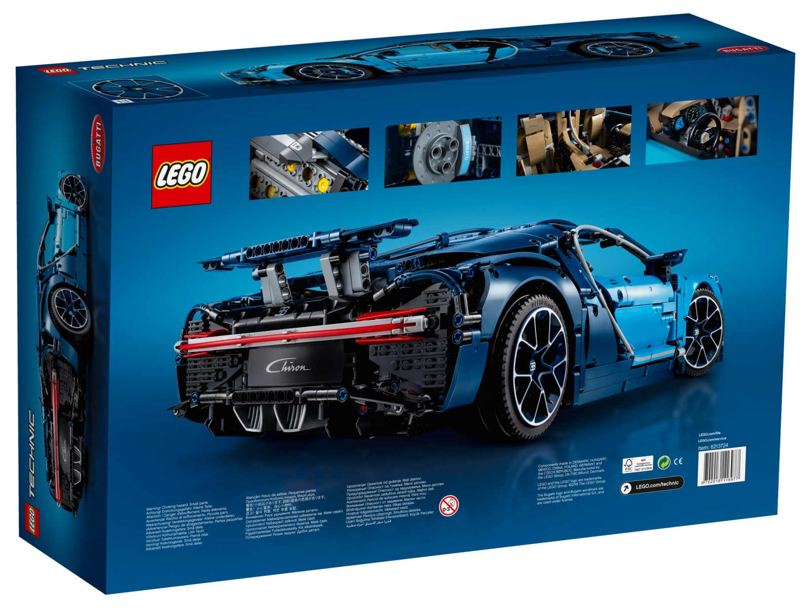 lego technic bugatti chiron 42083 toy at mighty ape nz. Black Bedroom Furniture Sets. Home Design Ideas