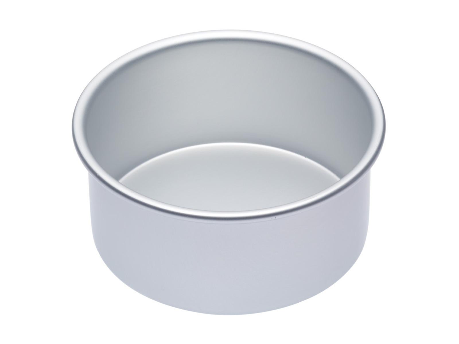 MasterClass: Silver Anodised Round Deep Cake Pan (15cm) image