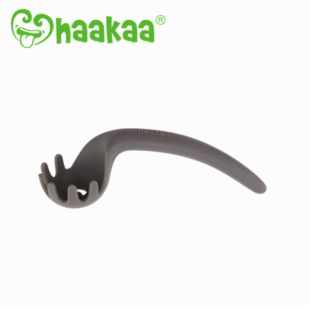 Haakaa: Silicone Noodle Spoon - Gray