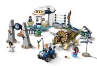 LEGO Jurassic World - Triceratops Rampage (75937)