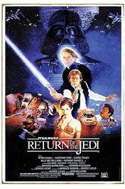 Star Wars Return of the Jedi Heavy Gauge Metal Sign image