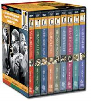 Jazz Icons Box - Series 1 (9 Disc Set) on DVD