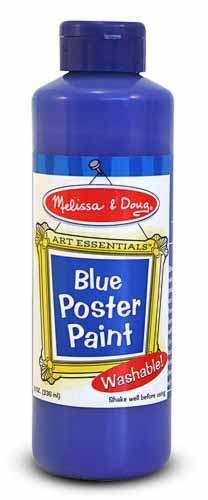 Blue Poster Paint - Melissa & Doug