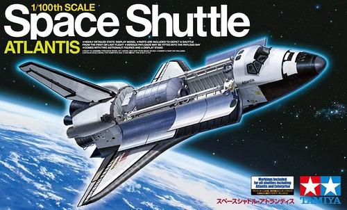 Tamiya 1:100 Space Shuttle Atlantis
