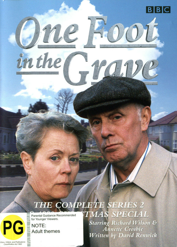 One Foot In The Grave - Complete Series 2 And 1990 Christmas Special on DVD