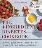 The 4-Ingredient Diabetes Cookbook by Nancy S Hughes