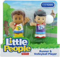 Fisher-Price: Little People - Runner & Volleyball Player