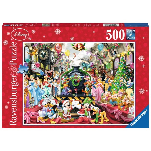 Ravensburger: Disney Christmas Train - 500pc Puzzle