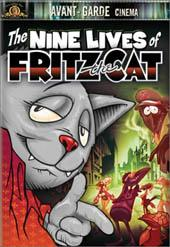The Nine Lives Of Fritz The Cat on DVD