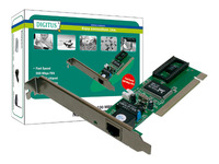Digitus 10/100 Fast Ethernet PCI Card image