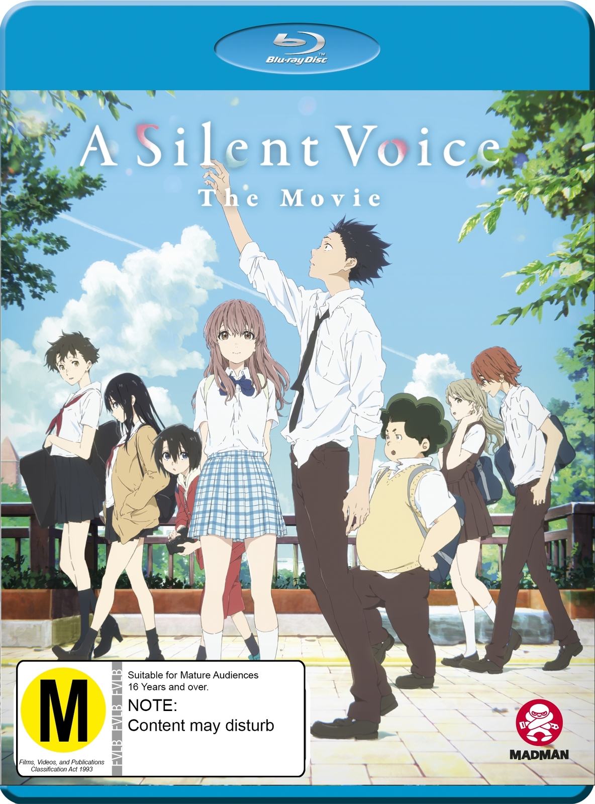 A Silent Voice on Blu-ray image