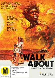 Walkabout on DVD