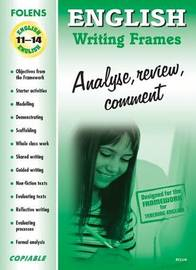 English: Analyse, Review, Comment image