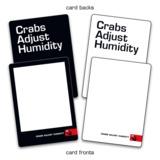 Crabs Adjust Humidity - Blank Deck