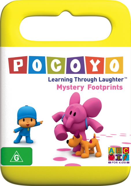 Pocoyo - Mystery Footprints on DVD image