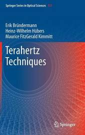 Terahertz Techniques by Erik Brundermann image