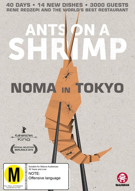 Ants On A Shrimp: Noma In Tokyo on DVD