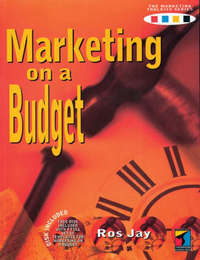 Marketing on a Budget by Ros Jay image